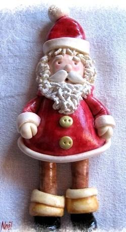 Faire un Père Noël en pâte à sel !