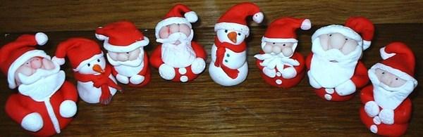 Faire un Père Noël en pâte fimo !