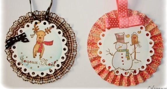 Tutos divers de décorations de Noël !