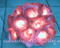 Fabriquer une guirlande lumineuse en matériau récup !