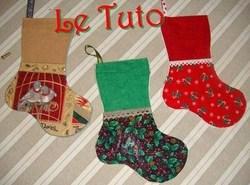 Confectionner des bottes de Noël !