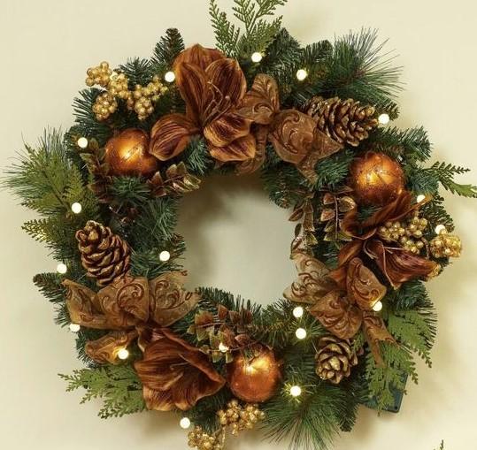 Faire une couronne de Noël végétale !