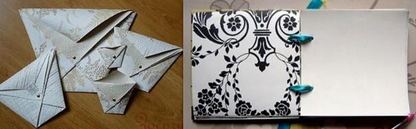 Quoi faire avec des chutes de papier peint