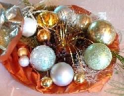 Faire un joli centre de table pour Noël