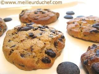 """Recettes en images """"faire des cookies maison"""""""