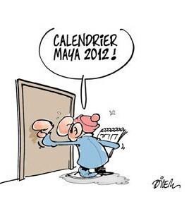 """Dessins humoristiques """"bonne année 2012"""" !"""