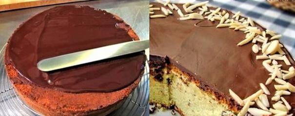 Comment faire un gla age pour napper un g teau - Comment decorer un gateau au chocolat ...