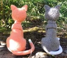 Tutos et modèles pour faire un chat au crochet !