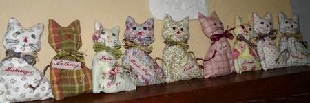 Comment faire un chat en tissu, les tutos