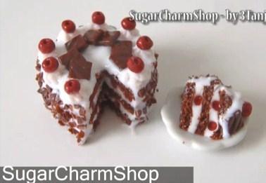 Comment faire un gâteau en pâte fimo, les tutos !