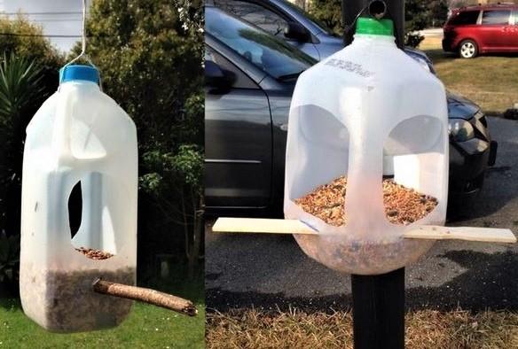 Recycler ses bidons de lessive vides !