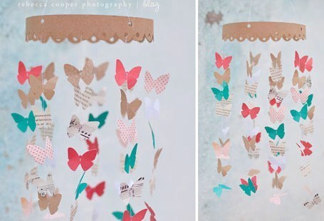 Comment faire un mobile en papier !