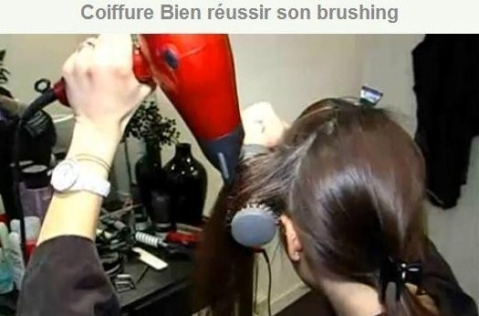 Comment faire soi même son brushing !