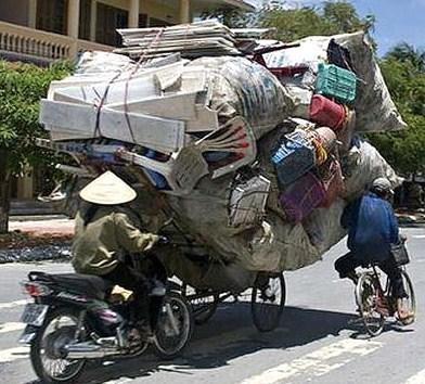 Déménagement express à vélo, no problème !