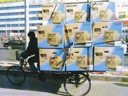 Réapprovisionnement magasin à vélo, garantie bon état à l'arrivée !