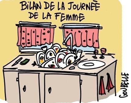 """Dessins humoristiques """"journée de la femme"""""""