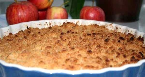 Crumble aux pommes, les recettes !
