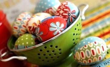 Faire des oeufs de Pâques en tissu !