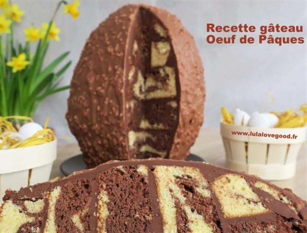 Faire un gâteau en forme d'oeuf de Pâques !