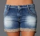 Customiser un short en jean les tutos - Comment couper un pantalon en short ...
