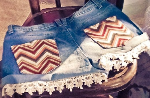 Customiser un short en jean, les tutos