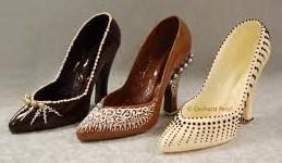 De jolies chaussures en chocolat !
