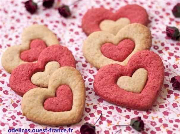 Recettes Biscuits St Valentin