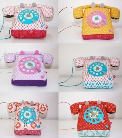 Des téléphones en tissu très fun !