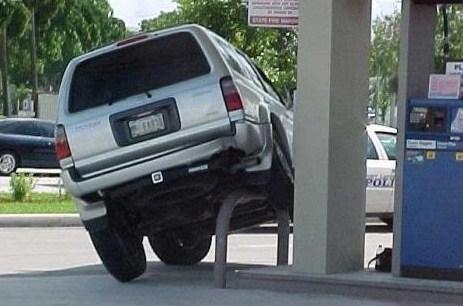 J'aime pas les parkings, y a trop de monde !