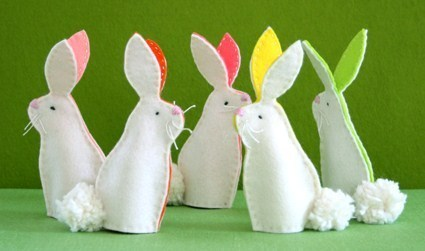 4 tutos faire un lapin en feutrine !