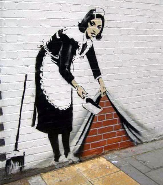 Peintures murales insolites !