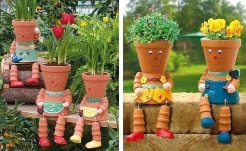 Belles id es r cup et d co pour le jardin for Idee deco massif jardin
