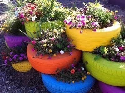 comment decorer son jardin avec de la recup