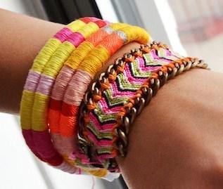 se fabriquer un joli bracelet pour l 39 t. Black Bedroom Furniture Sets. Home Design Ideas