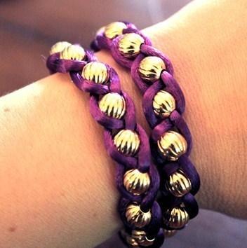 Se fabriquer un joli bracelet pour l 39 t - Bracelet a faire soi meme ...