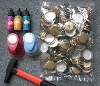 Recycler des capsules de bi re for Decoration de noel avec objet de recuperation