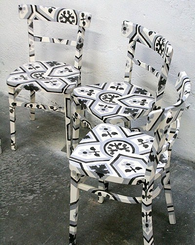 La tendance des chaises relookées !