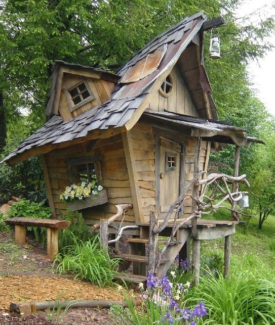 Ma cabane au fond du jardin