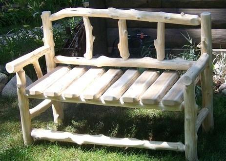 Jolis Bancs En Bois Faits Maison Pour Le Jardin