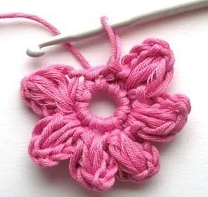 Tutoriel crochet fleur