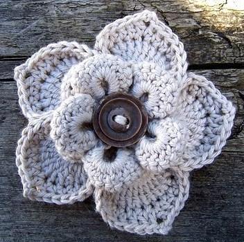 Tutoriel Faire Une Fleur Au Crochet
