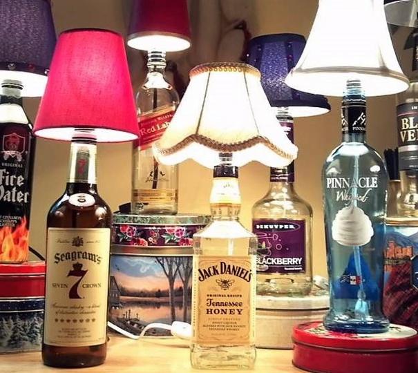 Faire une lampe bouteille, les tutos fabrication