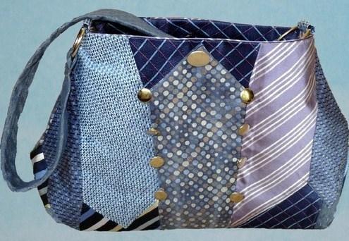 Faire un sac cravate des mod les des tutos - Modele sac a main a faire soi meme ...