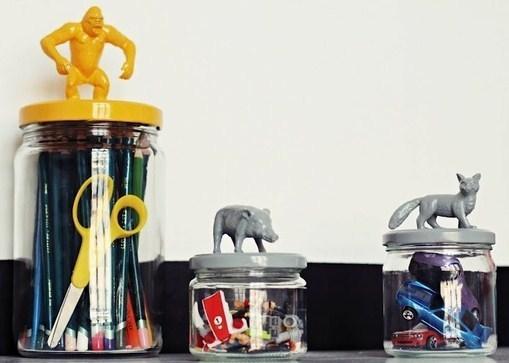 Customiser vos bocaux avec des figurines !