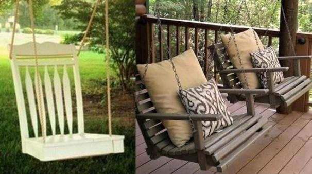 Recycler de vieilles chaises !