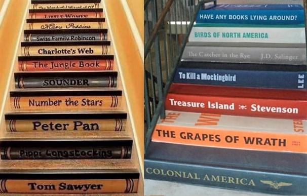 Des idées pour décorer son escalier !