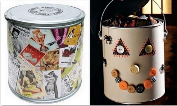 Pots de peinture recyclés !