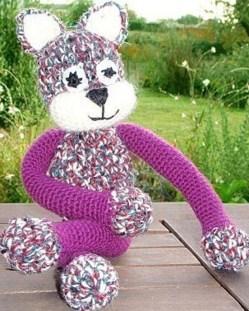 De jolis chats tricotés !