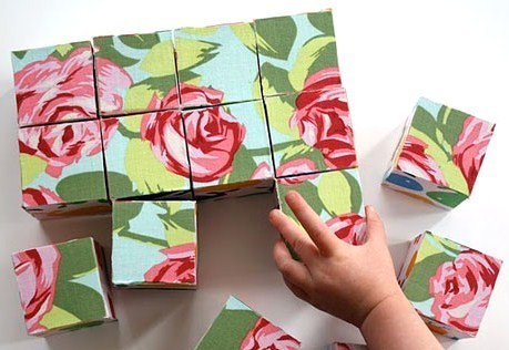 Faire un puzzle en cubes de bois
