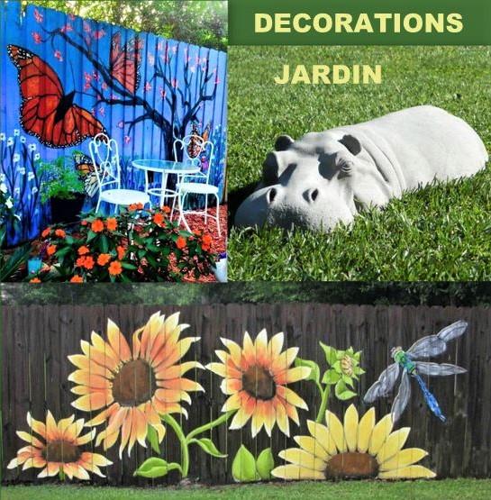 Décorations originales pour le jardin